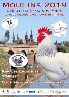 Exposition Internationale d'Aviculture de Moulins 2019